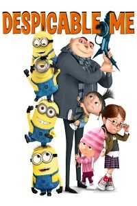 "Despicable Me (2010) Voices of Steve Carell, Miranda Cosgrove, Julie Andrews, Jason Segel, Russell Brand, Kristen Wiig and Will Arnett. Love love love this movie! ""It's so FLUFFY!!!"""