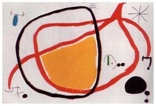Bird in the Night - Joan Miro