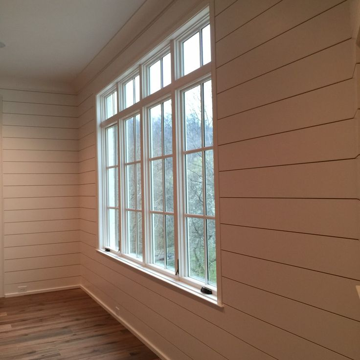 Shiplap - Corners can be tricky… the edges where all of the boards meet needs to be clean.  The installer can choose to miter the corners to create a sharp edge, or butt joint them and then choose which side has an exposed (but clean) edge.