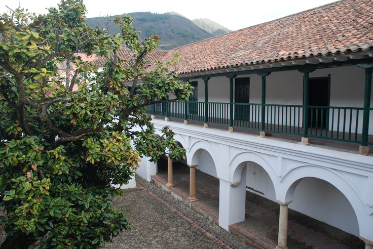 House built around a courtyard, Pamplona, Colombia