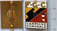 78) Distintivo F.G.C. Fasci Giovanili di Combattimento Campiione Comunale Milano