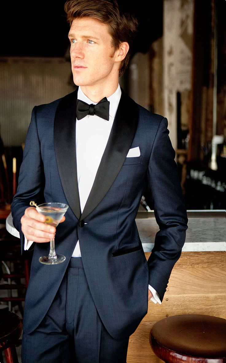 Madison Midnight Blue Tuxedo by Knot Standard