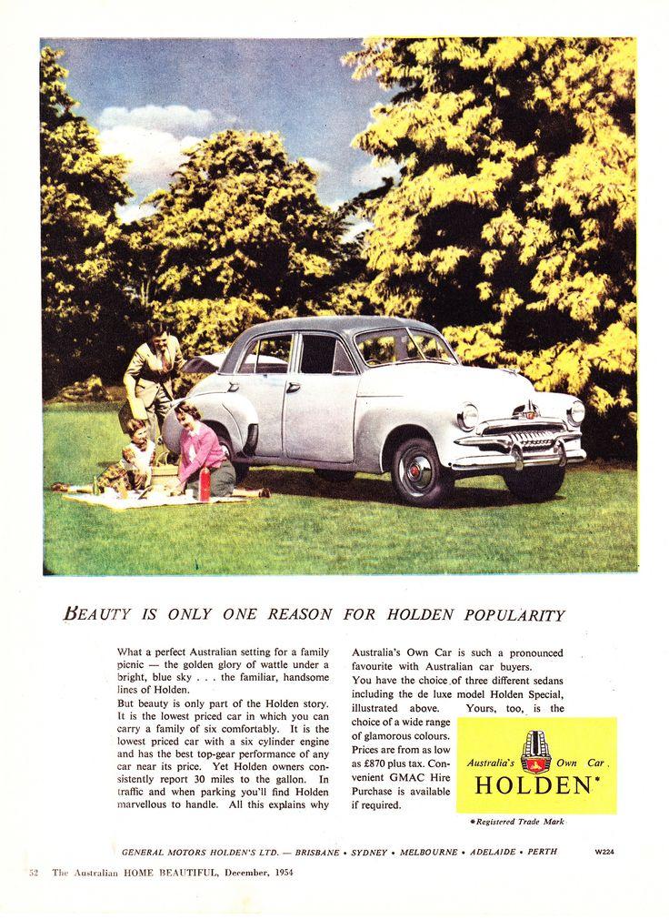 https://flic.kr/p/eXQ7t9   1954 FJ Holden Sedan Aussie Original Magazine Advertiswement