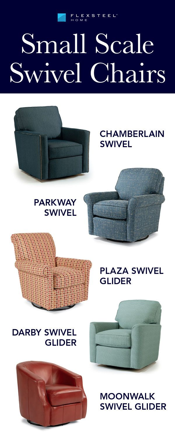 Small Scale Swivel Chairs Are Perfect For Condos, Apartments And Small  Homes. Swivel Or
