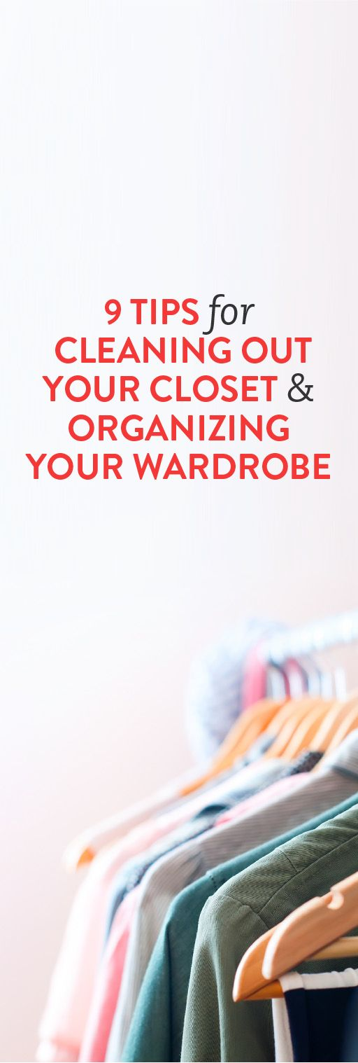 9 tips for cleaning out your closet organizing your - Cleaning out your closet ...