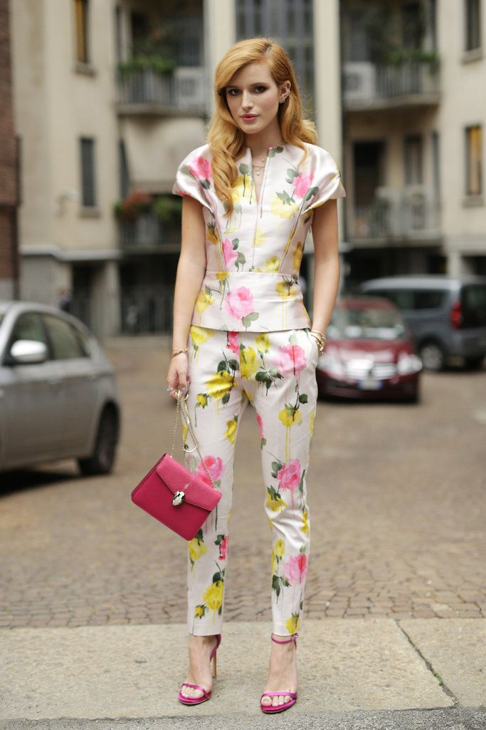 street style: Milan Fashion Week Spring 2015... FLOWERS everywhere, never enough!