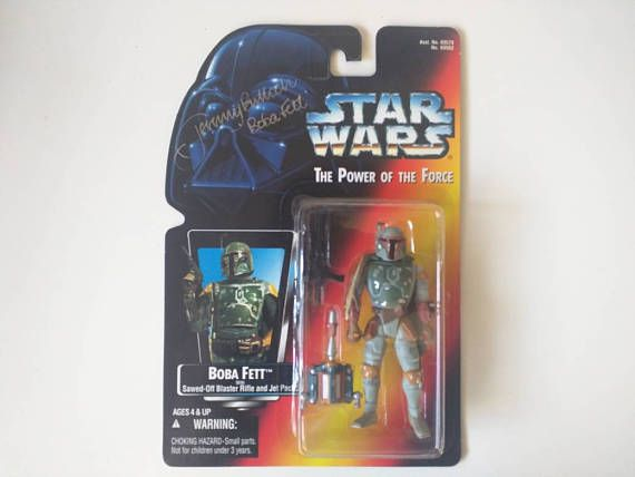 Check out this item in my Etsy shop https://www.etsy.com/listing/515882202/boba-fett-autographed-by-jeremy-bulloch