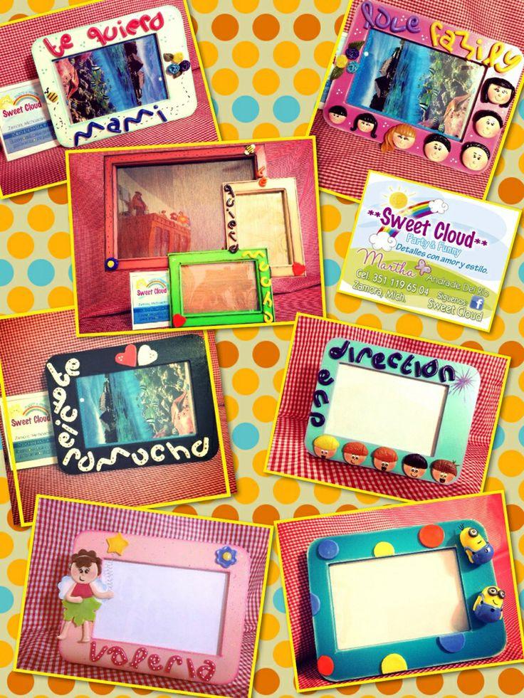 Portarretratos personalizados. www.facebook.com/www.sweetcloud.mex.tl