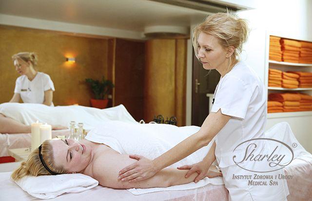Masaż aromaterapeutyczny.