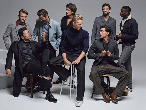 Men's Fall Fashion Trends: Suits, Sweaters, Jackets, Pants: What to Wear Now