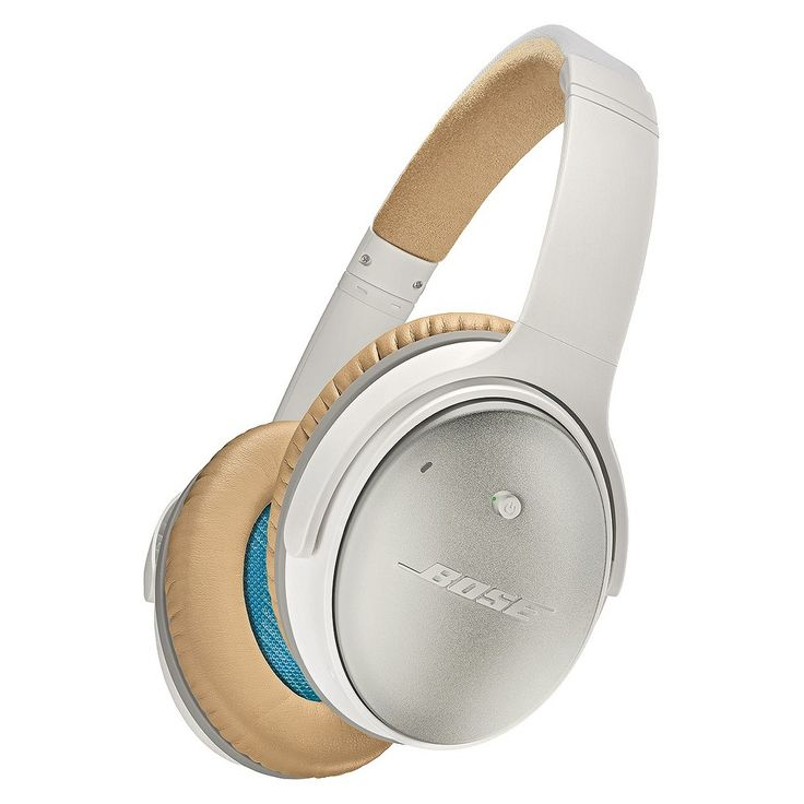 Bose QuietComfort 25 Acoustic Noise Cancelling Headphones White for Apple