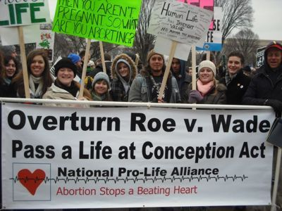 March for Life - January 25, 2013