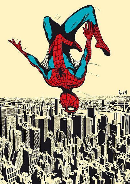 Spider-Man Find more at: https://www.facebook.com/CharacterDesignReferences