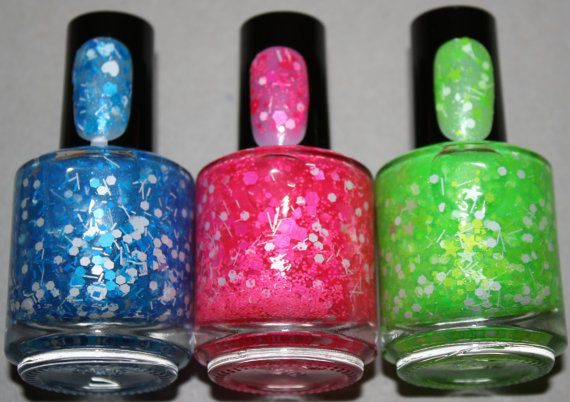 Power Puff Girls Nail Polish Colors - Goodie Bags