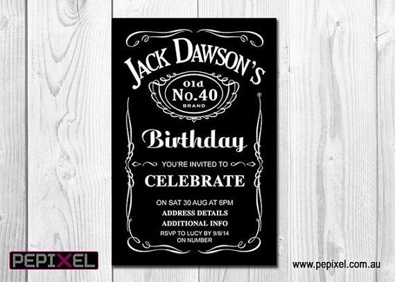Best Adult Birthday Invitations Party Invitations Images On - Digital birthday invitation template