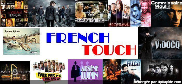 FRENCH TOUCH #1 est en ligne :  Avec Alexandre Letren nous vous proposons un Podcast 100% séries françaises! N'hésitez pas à nous donner votre avis!