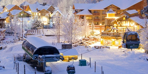 #Creekside Gondola and #Dustys. Creekside is the quiet(er), locals area of Whistler, has some of the best food options in town, and the #Gondola line is always shorter than the #Village