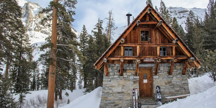 17 best images about mountain home on pinterest lakes for Log cabin sequoia national park