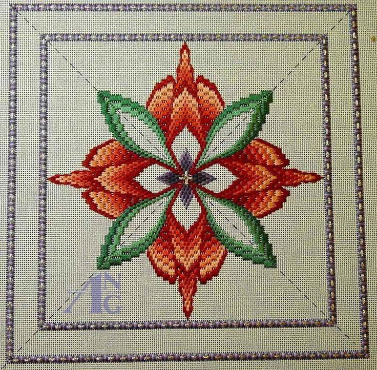 needlepoint images | ANG: American Needlepoint Guild - Stitch of the Month - May 2013