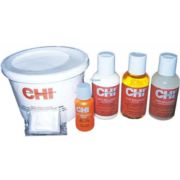Chi Deep Brilliance No Base Sodium Hydroxide Relaxer