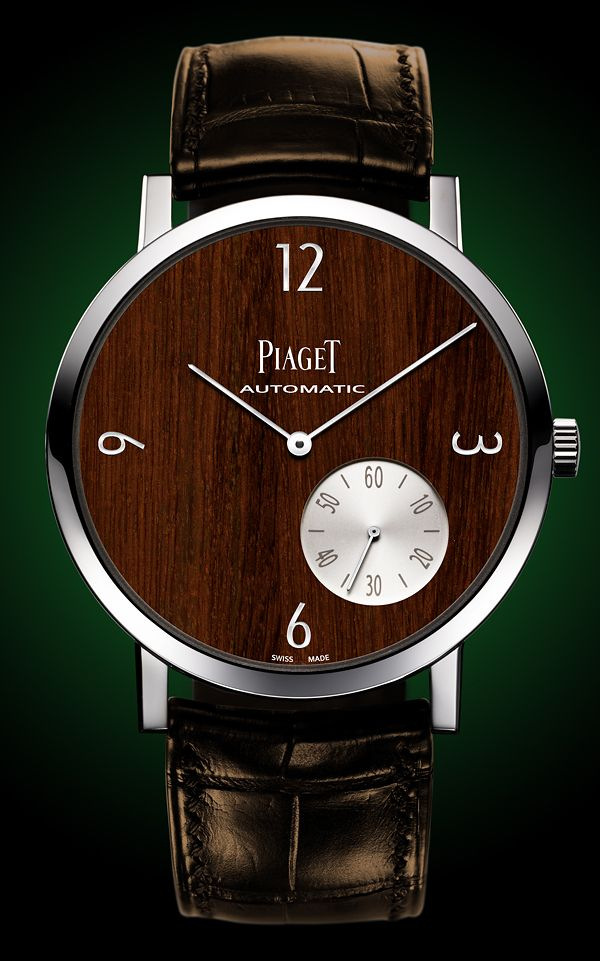 """If I had a watch like this I'd say stuff like """"Wood you like to know what time it is?!"""""""