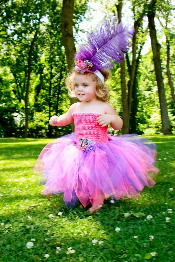 Tutu Dress & Mini top hat Mad Hatter Pageant dress by ChiclyHooked,