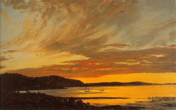 Fine Art Connoisseur - Frederic Edwin Churchs Maine Paintings Return To Olana In Upstate New York