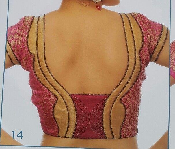 Blouse Neck Models Images