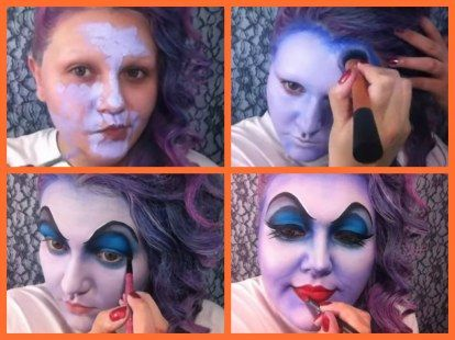 Maquiagem de Halloween | Úrsula
