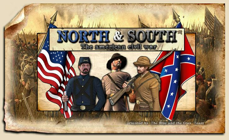 the history of the conflict between the north and south in the famous american civil war The american civil war tensions between the north and south escalated as list of the many relevant pre bellum and civil war history lessons and materials.