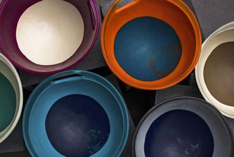 Dinosaur Designs Modern Tribal 2013 - Art-Range Large Lotus bowls Photographed by Nicholas Samartis