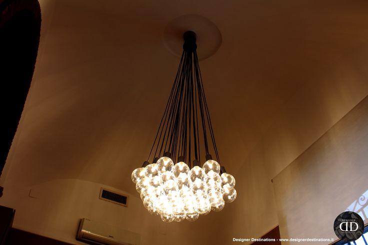 Ceiling chandelier : La Canonica Office Restyling
