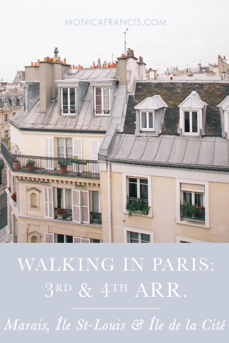 Paris Walking Guide to the 3rd and