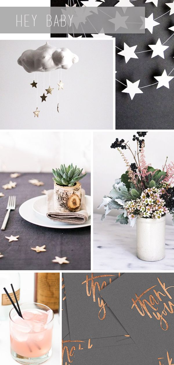 CHIC SHOWER INSPIRATION :: FLY ME TO THE MOON - coco+kelley
