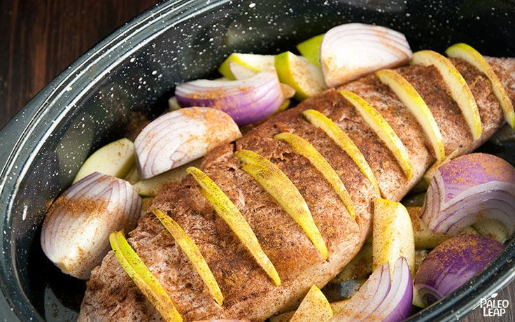 Celebrate the arrival of apple season with this tender and flavorful pork loin.