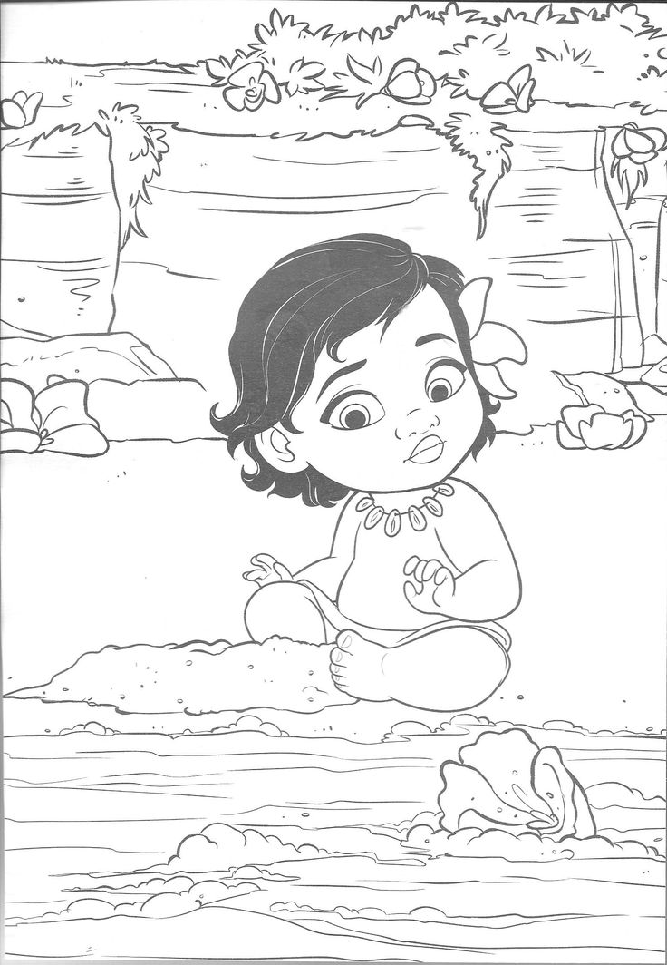 Pin By Safa On Coloring Pages Moana Coloring Pages