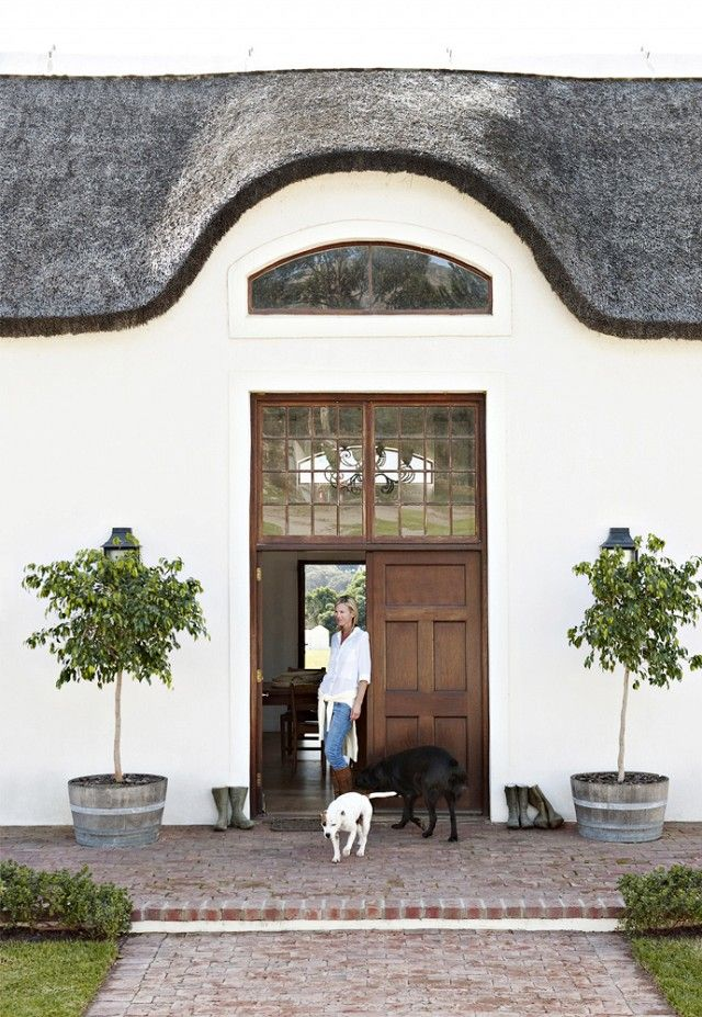 Tour+a+Tranquil+Farmhouse+Outside+of+Cape+Town+via+@mydomaine