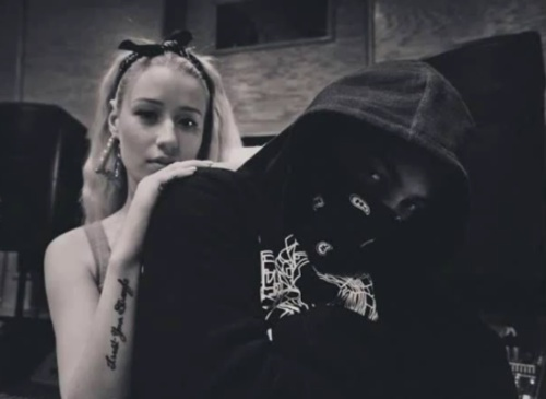 My new favorite couple #iggy #azalea #asap #rocky