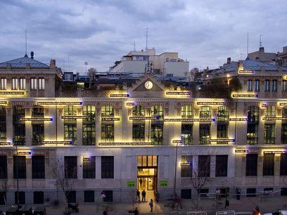 La Casa Encendida (Madrid). Fachada