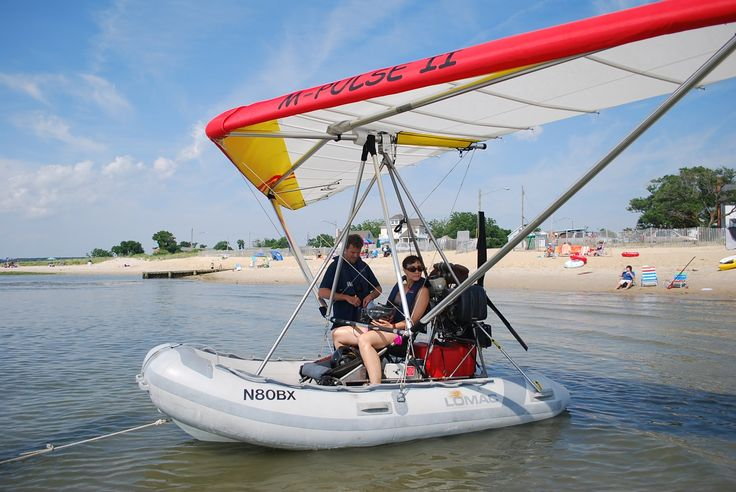 Inflatable boat plane