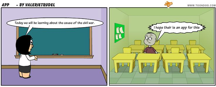 Kids can create their own comic strips on the SMARTboard with this site - toondoo.com