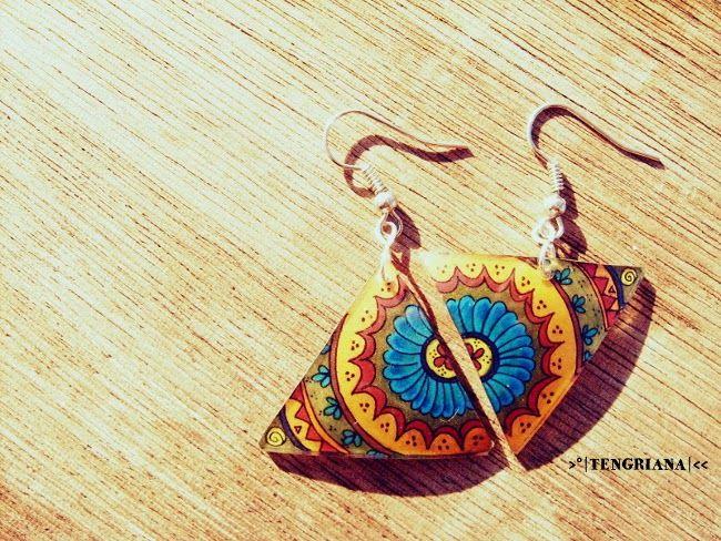 ❂ Tengriana: Assymmetry Cuts Mandala • Hasított mandala