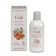 Goji Habfürdő goji illattal.  - Rendeld meg online! Parfüm és kozmetikum család az olasz Lerbolario naturkozmetikumoktól