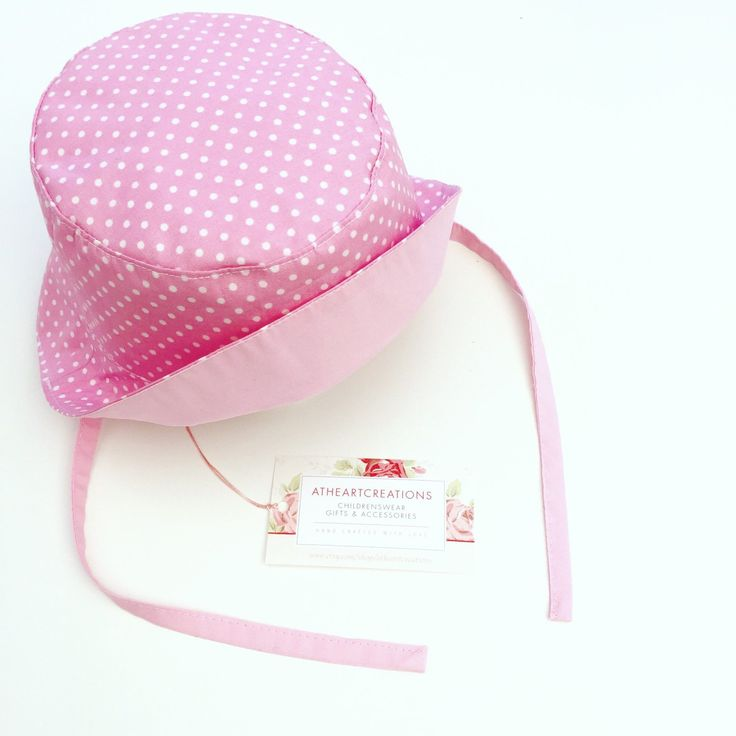 Gorgeous baby girl sun hats being posted out tomorrow