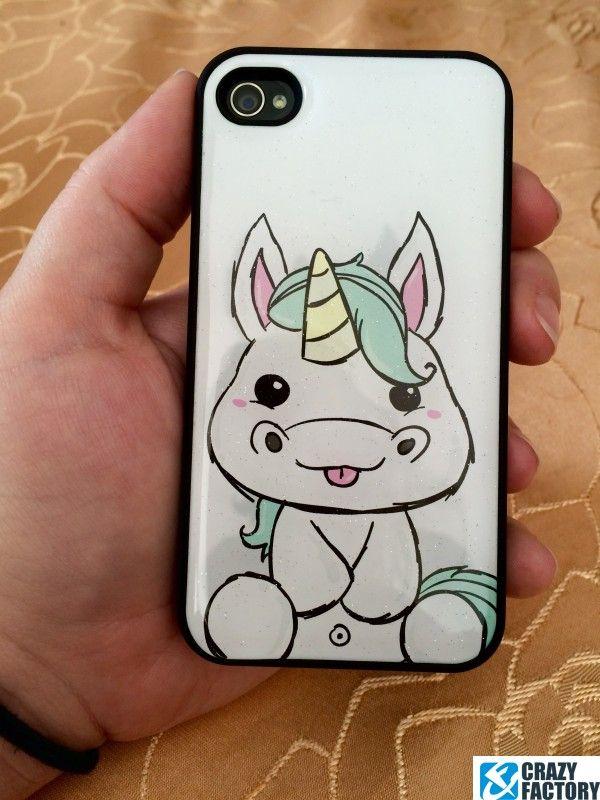 Coque pour portable avec glitter licorne http://amzn.to/2spd3Ru