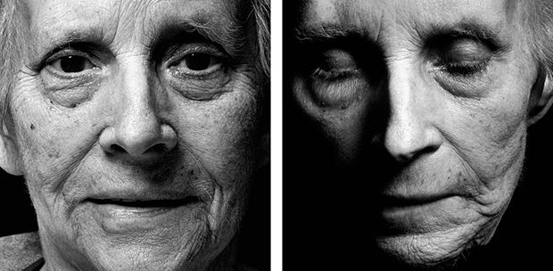 POWERFUL PORTRAITS OF INDIVIDUALS BEFORE AND DIRECTLY AFTER THEIR DEATH - via. feature shoot
