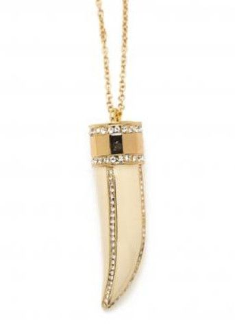 CC Skye Glamour Horn Necklace **Available in 4 colors**
