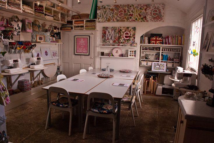 MakeMe Workshops   Set Up For Design Your Own Garden Workshop