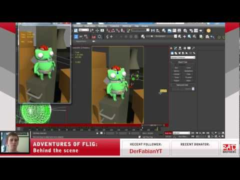 #19. Flig vs Radioactive Liquid: Animations in 3ds max #‎twitch‬ ‪#‎indie‬ ‪#‎indiedev‬ ‪#‎gamedev‬ ‪#‎aoflig‬ ‪#‎fligadventures‬ ‪#‎adventuresofflig‬ ‪#‎flig