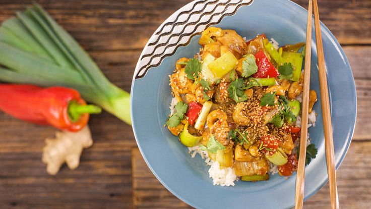Rachael Ray Show - Chinese Takeout - Cashew Chicken make-your-own takeout night!